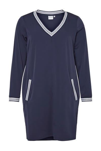 74ba82ca Blå kjole med hvid rib - Junarose 399.00 DKK 199.00 DKK. Rød blonde kjole  ...