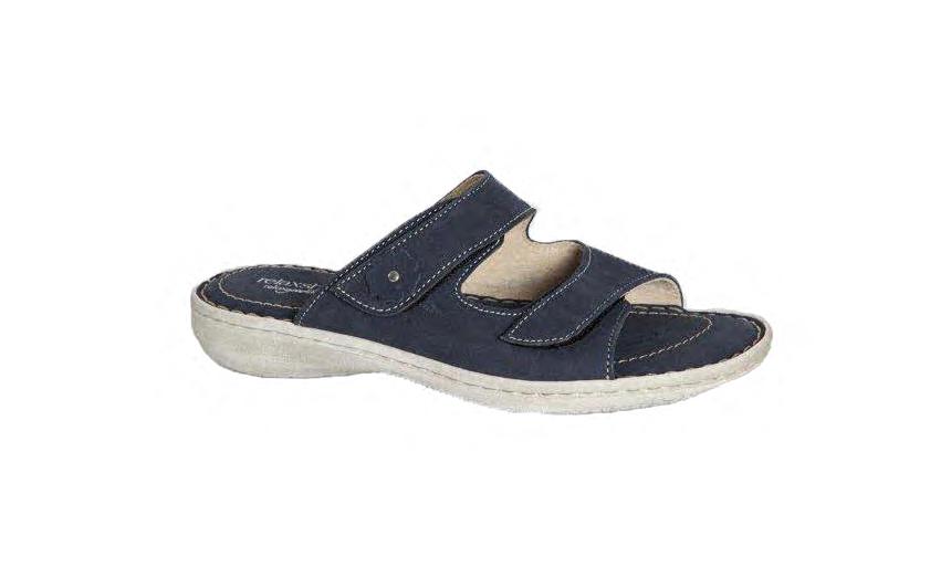 Denim farvet sandal fra Relaxshoe 518 002